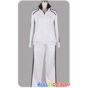 Starry Sky Cosplay Tsukiko Yahisa Yoh Tomoe White Sport Uniform Costume