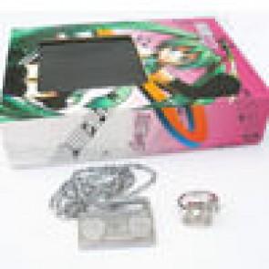 Vocaloid 2 Hatsune Miku Accessories (Necklace + Ring)