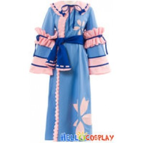 Touhou Project Imperishable Night Cosplay Yuyuko Saigyouji Costume