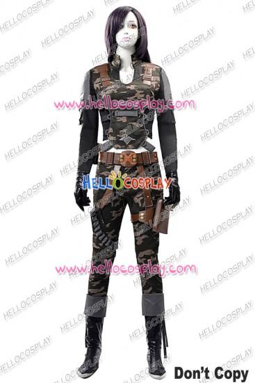 Assault Fire Black Widow Cosplay Costume Uniform