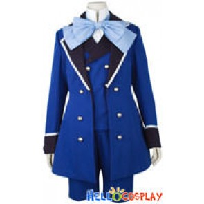 Black Butler Cosplay Ciel Phantomhive Blue Costume