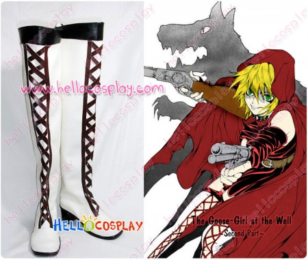 Ludwig Revolution Cosplay Red Riding Hood Lisette Boots