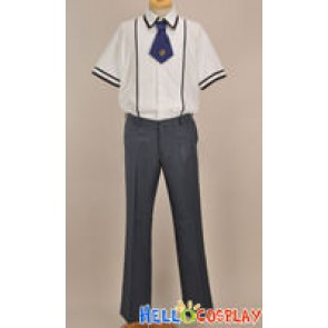 Baka to Test to Shokanju Cosplay Boy Summer Uniform