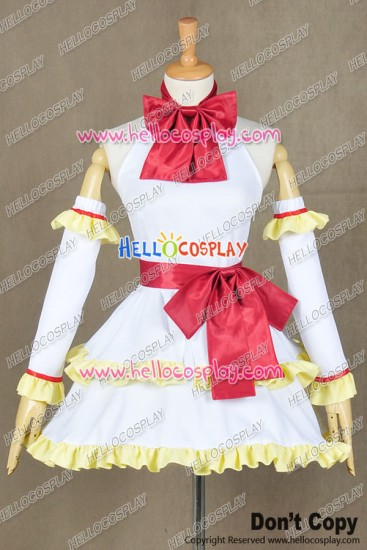 Fairy Tail Wendy Marvell Cosplay Costume Dress