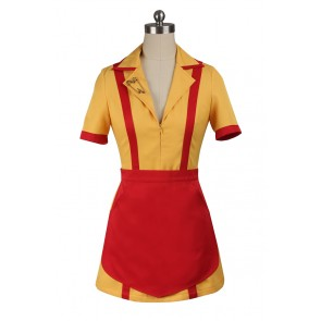 2 Broke Girls Max Black Cosplay Costume