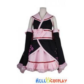 Vocaloid 2 Cosplay Hatsune Miku Kimono Dress