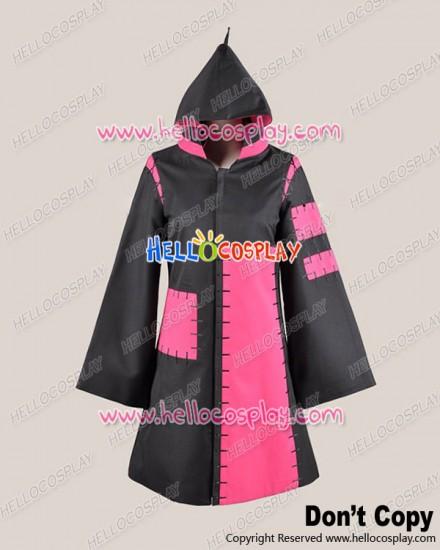 Vocaloid 2 Cosplay Tokyo Teddy Bear Kagamine Rin Black Pink Costume
