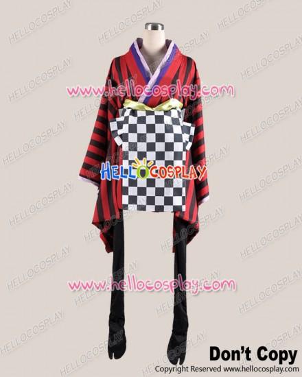 Inu x Boku SS Chapter 2 Cosplay Ririchiyo Shirakiin Costume Kimono