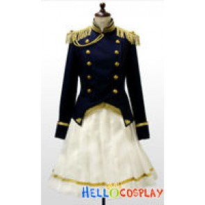 Axis Powers Hetalia Cosplay Costume Japan Female Uniform