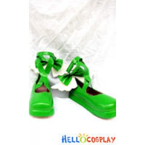 Shugo Chara Cosplay Amu Hinamori Green Shoes