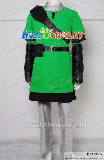 The Legend of Zelda Link Deluxe Cosplay Costume