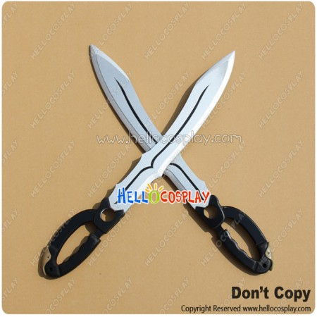 Tales Of Xillia 2 Cosplay Ludger Will Kresnik Double Broadswords Weapon