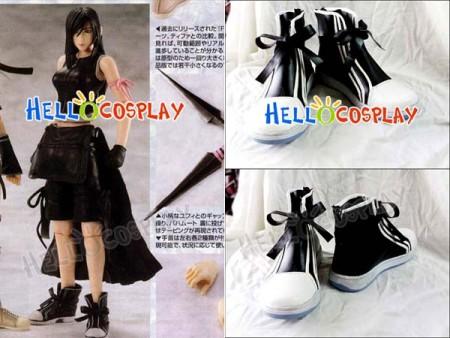 Final Fantasy Cosplay Tifa Lockhart Short Boots