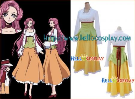 Code Geass Cosplay Euphemia Casual Costume
