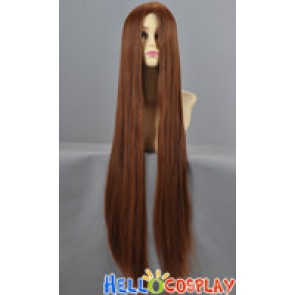 Warm Brown Long Cosplay Wig