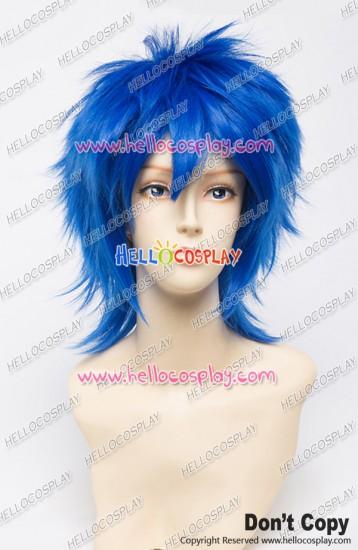 Vocaloid Cosplay Kaito Wig Penguindrum Shōma Takakura Wig 30CM Blue Universal Layered Short