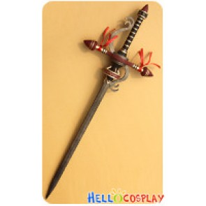 Monster Hunter F Cosplay Dark Blonde Sword Weapon Prop