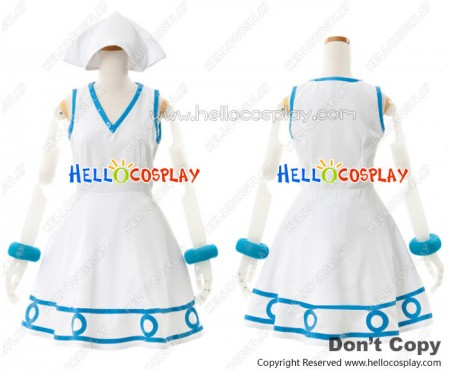 Shinryaku Ika Musume Cosplay Squid Girl Dress Costume