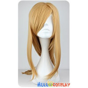 Sword Art Online Asuna Yuuki Cosplay Wig Brown Yellow