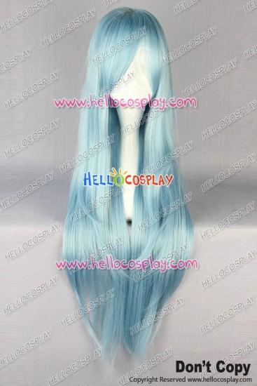 Sword Art Online Asuna Yuuki Cosplay Wig Light Blue