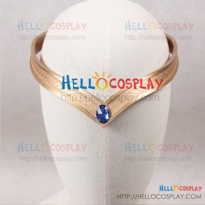 Sailor Moon Cosplay Sailor Uranus Haruka Tenou Headwear Headdress Blue