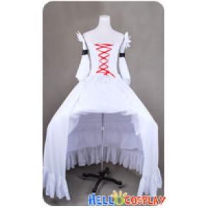 Pandora Hearts Cosplay Will of the Abyss White Rabbit Dress