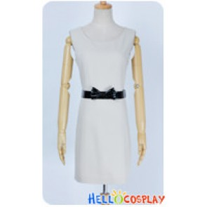 Twilight Cosplay Bella White Daily Dress Costume