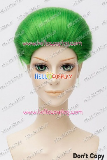 Suicide Squad Joker Cosplay Wig
