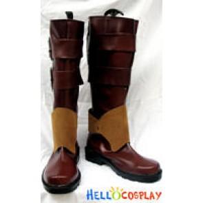 Pandora Hearts Cosplay Oz Vessalius Boots