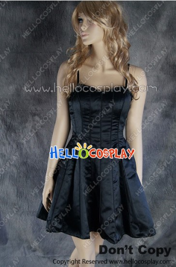 Party Cosplay Black Princess Short Ball Gown Formal Dress Costume