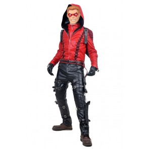 Green Arrow 3 Red Arrow Roy Harper Cosplay Costume