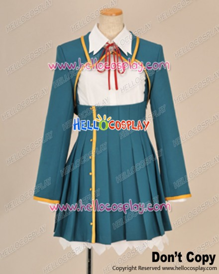Love Elections Chocolate Cosplay Chisato Sumiyoshi Girl Uniform Costume