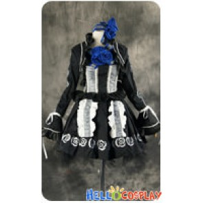 Vampire Knight Cosplay Yuki Cross Kuran Gothic Dress Costume