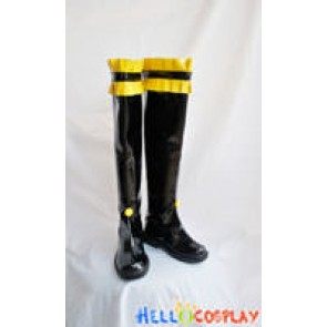 Vocaloid Cosplay Rin Kagamine Black Long Boots