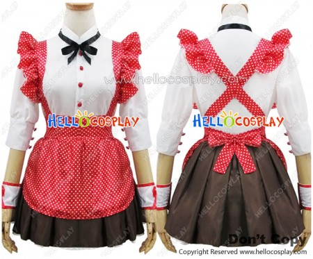 Angel Feather Cosplay Vocaloid Balala The Fairies Maid Dress