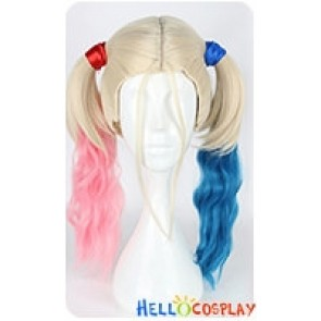 Suicide Squad Cosplay Harley Quinn Cosplay Wig