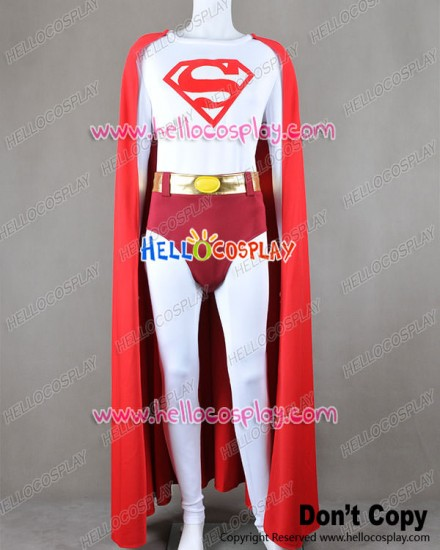 Superman Cark Kent Cosplay Costume Cape Red