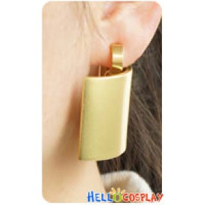 Fate Zero Cosplay Gilgamesh Earrings Ear Clips