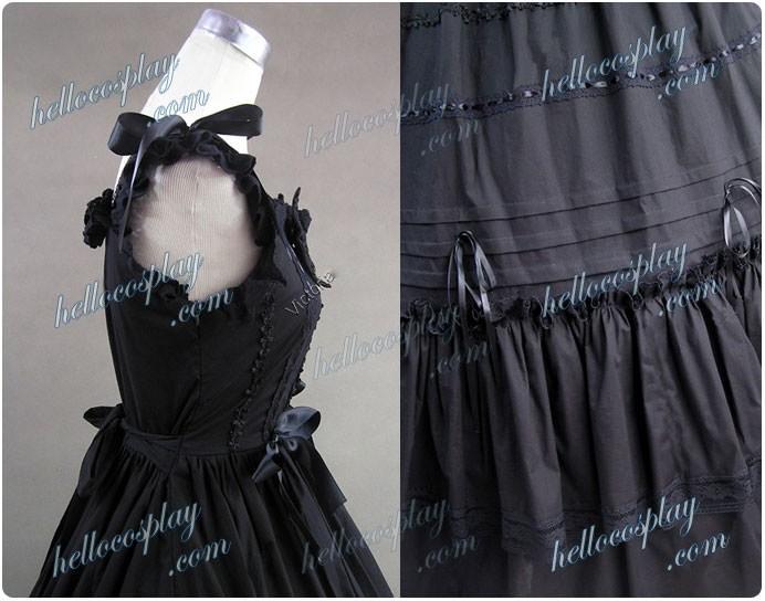 Southern Belle Gothic Lolita Ball Gown Dress Black Dress