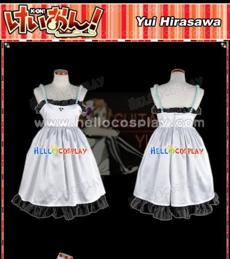 K-On Cosplay Costume Yui Hirasawa Dress
