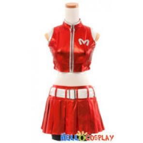 Vocaloid 2 Cosplay Meiko Costume Red Uniform
