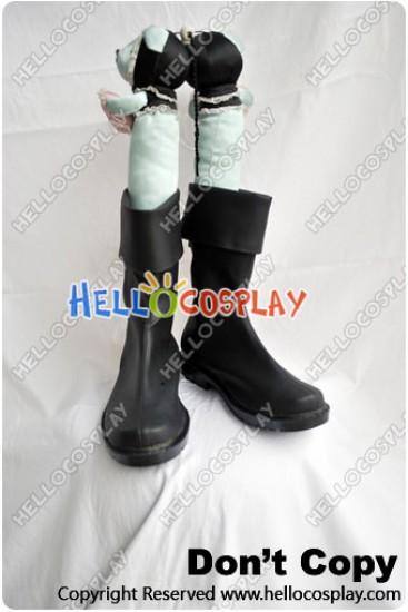 One Piece Cosplay Roronoa Zoro Black Short Boots