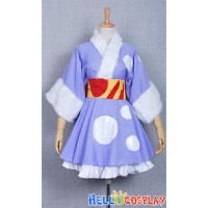 K-On Cosplay Mio Akiyama Kimono