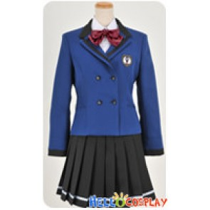 Tokimeki Memorial Girls Side 3rd Story Cosplay Miyo Ugajin Uniform Costume
