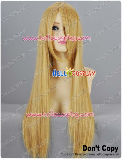 Blonde Gold Straight Cosplay Wig 70cm