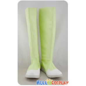 Digimon Cosplay Inoue Miyako Light Green Boots