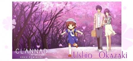Clannad Ushio Okazaki Cosplay Costume