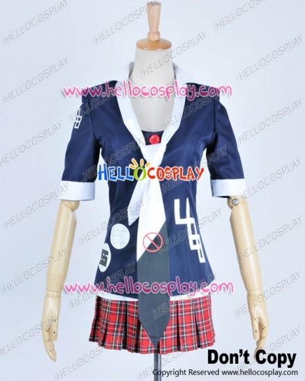Danganronpa Dangan Ronpa Cosplay Junko Enoshima Costume Forbid Symbol Tie