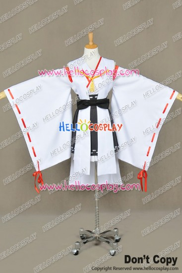 Kantai Collection Combined Fleet KanColle Cosplay Haruna Kimono Costume New