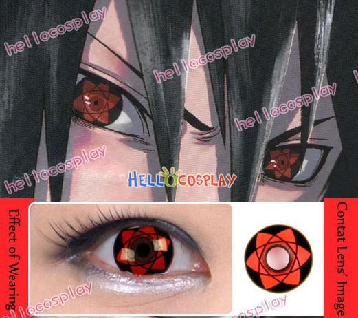 Naruto Sasuke Uchiha Eternal Mangekyo Sharingan Contact Lenses